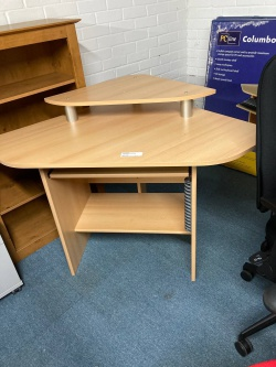 Desking Large Double wave desk