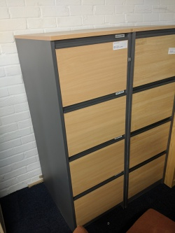 Storage Used 4 drawer filing cabinet