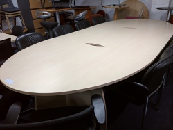 Meeting tables & chairs Used Burunomic Elancia Table