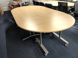 Meeting tables & chairs Used Modular Conference Table