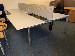 Desking 4 Person Steelcase Bench