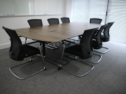Meeting tables & chairs Walnut Boardroom table