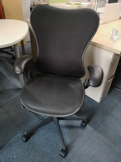 Working Chairs Herman Miller Mirra Chair