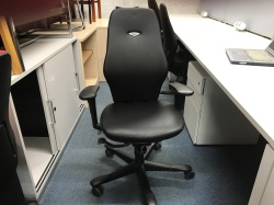 Working Chairs Leather Kinnarps 6000 task chair